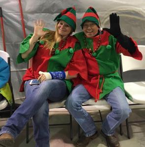Santa's  Elves. (Valerie Knouse & Gary Smith)